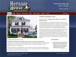 Heritage House Elder Care - Faribault Assisted Living